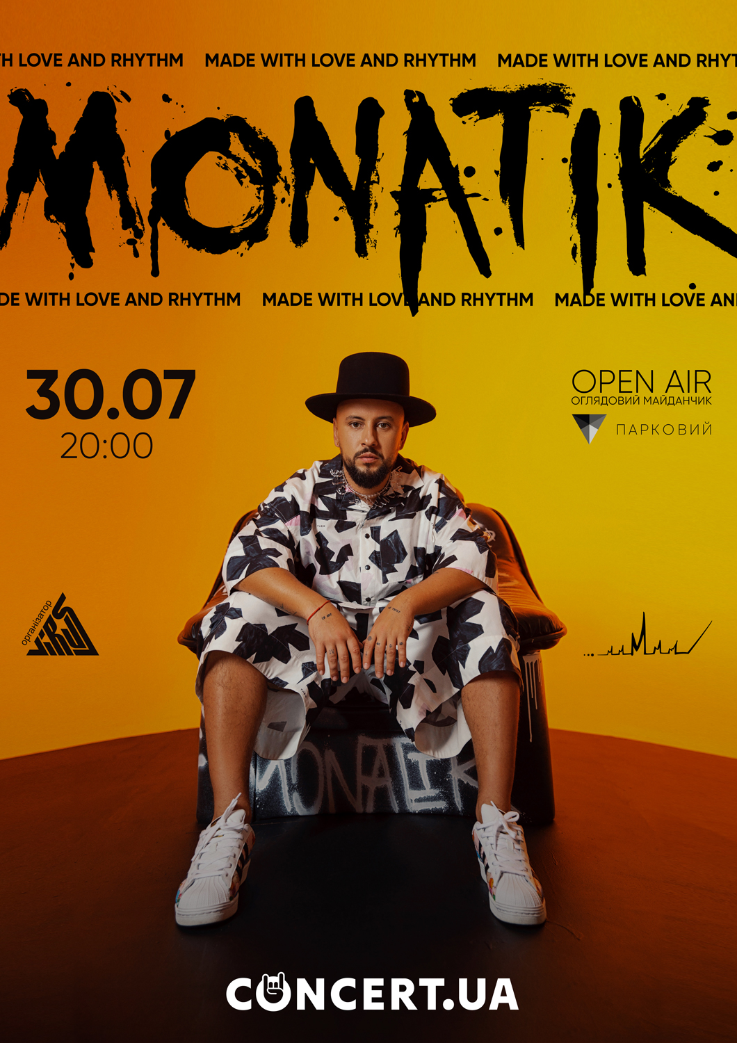 "MONATIK ""Made With Love And Rhythm"""