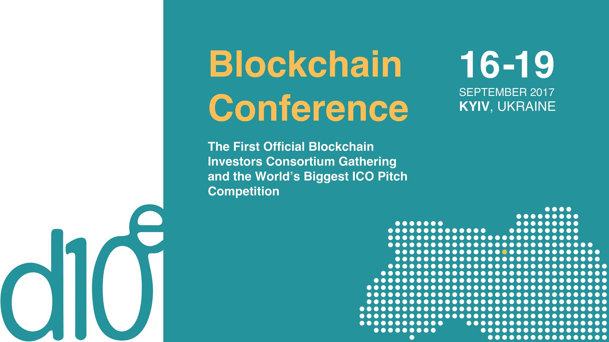 D10e Blockchain Investors Consortium & ICO Pitch Competition