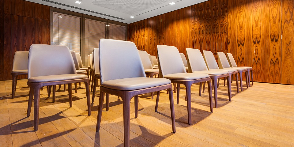 Large and Small conference rooms